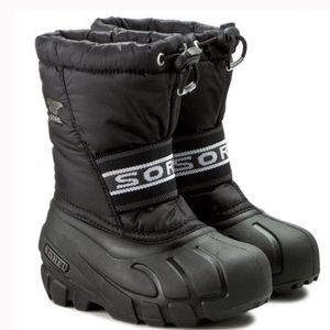 SOREL Children's Cub Winter Snow Boots With Liner Size 11 Toddler